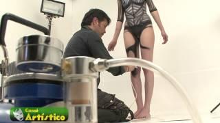 getlinkyoutube.com-Body Paint con Kristian Kuevas