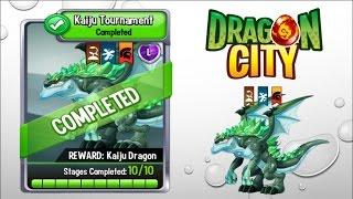 getlinkyoutube.com-Dragon City - Kaiju Dragon [Kaiju Tournament | Full Fight & Combat]