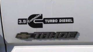 getlinkyoutube.com-2002 Tahoe 4BT Cummins Diesel FOR SALE