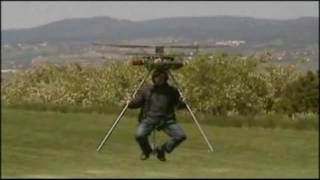 Home Built Personal Helicopter Takes Flight For First Time