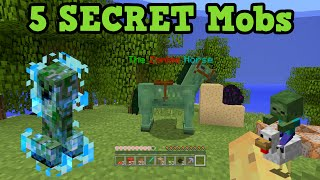 getlinkyoutube.com-Minecraft Xbox 360 / PS3 - 5 Secret Mobs