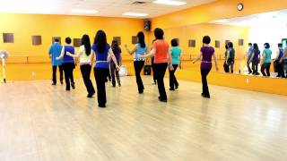 getlinkyoutube.com-Dreams I Dream - Line Dance (Dance & Teach in English & 中文)