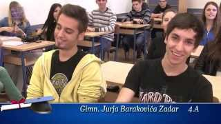 2014 GJB Zadar - Maturalna zabava_Predstavljanje 4a,4b,4d