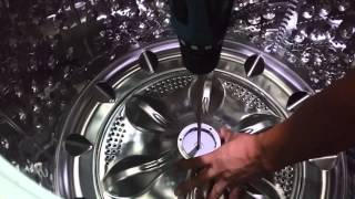 getlinkyoutube.com-[불만제로 해결] LG 통돌이 세탁기 분해 및 세척하기 1탄