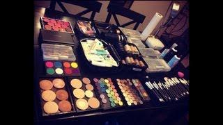 getlinkyoutube.com-Updated Professional Freelance Makeup Artist Kit - Zuca