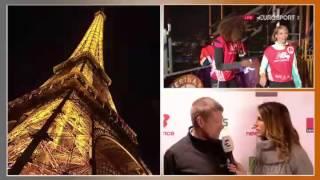 getlinkyoutube.com-Live La Verticale de la tour Eiffel 2016