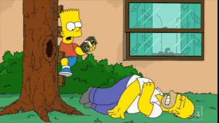 getlinkyoutube.com-The Simpsons - Homer hurt his shoulder