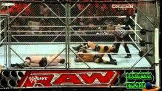 getlinkyoutube.com-Sheamus vs Wade Barrett vs Randy Orton (Stell Cage match #1 Contender for the WWE Champioship)