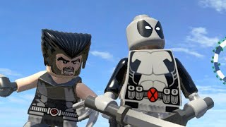 getlinkyoutube.com-LEGO Marvel Superheroes - X-FORCE DEADPOOL & WOLVERINE FREE ROAM GAMEPLAY (MOD SHOWCASE)