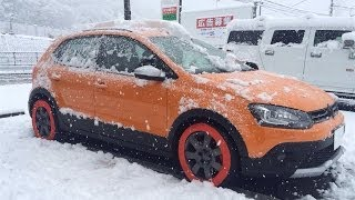 getlinkyoutube.com-雪道をスノーカバーで走ってみた。