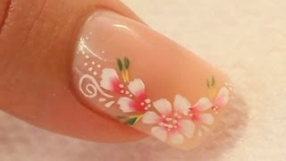 getlinkyoutube.com-Nude Acrylic Nail Art Using Cover Pink Acrylics Tutorial