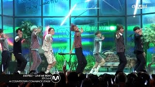 getlinkyoutube.com-[MPD직캠] 엑소 직캠 LOVE ME RIGHT EXO Fancam  Mnet MCOUNTDOWN 150604