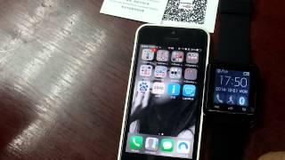 getlinkyoutube.com-How to sync smartwatch u8 Plus with IOS