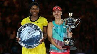 getlinkyoutube.com-Serena Williams v Angelique Kerber highlights (Final) | Australian Open 2016
