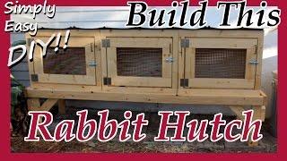 getlinkyoutube.com-DIY Rabbit Hutch / Cage