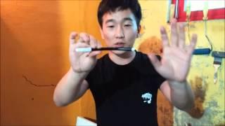 getlinkyoutube.com-간단한 마술 배우기- 싸인펜이 휘어지는 마술