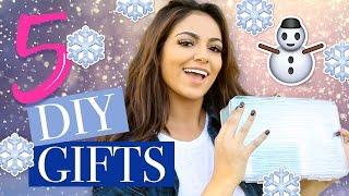 getlinkyoutube.com-5 Holiday DIY Christmas Gifts | Bethany Mota