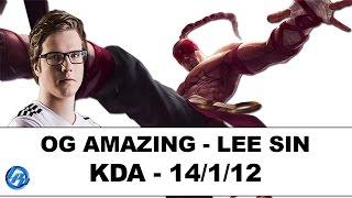 getlinkyoutube.com-OG Amazing - Lee Sin Jungle - EUW SoloQ