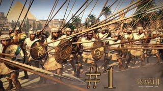 getlinkyoutube.com-Total War: Rome II - Egypt Campaign - Episode 1