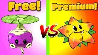 getlinkyoutube.com-Plants vs Zombies 2 STARFRUIT vs ROTOBAGA in PVZ 2