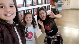 getlinkyoutube.com-At Musical.ly HQ with Sophia Grace (WK 308.7) | Bratayley