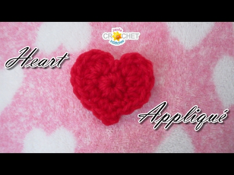 Heart Appliqué DIY - Happy Valentine's Day!