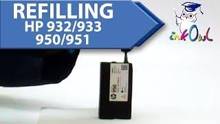 How to refill HP 932, 933, 950, 951 Ink Cartridges