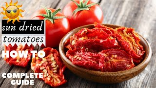 getlinkyoutube.com-ντοματες λιαστες - sundried tomatoes