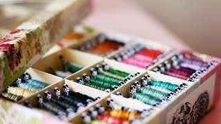 getlinkyoutube.com-Вышивка крестом: Рукодельные покупки+подарок сестры
