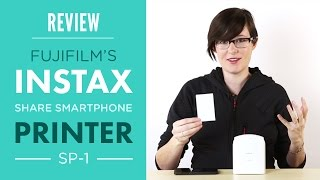 getlinkyoutube.com-Fuji Instax Share Smartphone Printer SP1 Review