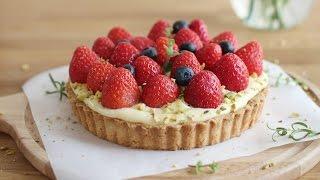 getlinkyoutube.com-[ENG] 딸기타르트 만들기 :베이킹&baking: How to make strawberry tart