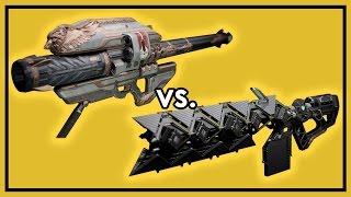 getlinkyoutube.com-Destiny Rise of Iron: Gjallarhorn vs. Sleeper Simulant - Exotic Weapon Damage Comparison