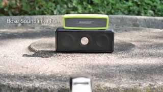 getlinkyoutube.com-Bose Soundlink Mini vs. TDK A33 outdoor comparison