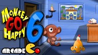 getlinkyoutube.com-Monkey Go Happy 6 Walkthrough All Levels HD