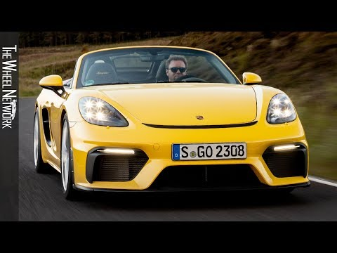 2020 Porsche 718 Spyder | Racing Yellow | Driving, Interior, Exterior