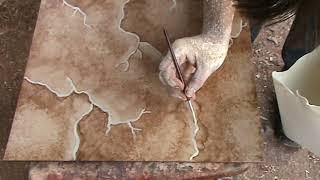 getlinkyoutube.com-Imitacion O Copia De Piedra Parte 2