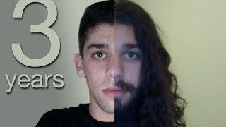 getlinkyoutube.com-Three Years Time Lapse (growing my hair)