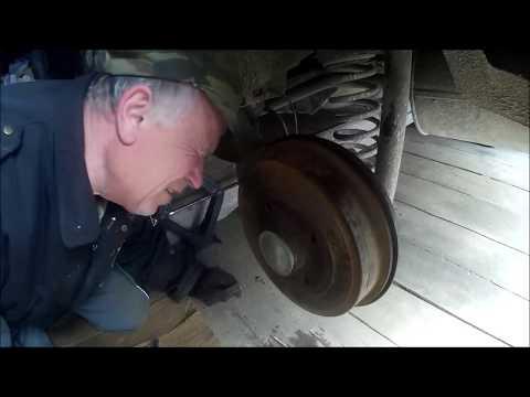 Рено САНДЕРО - Замена ЗАДНЕГО ступичного ПОДШИПНИКА (ремонт своими руками)