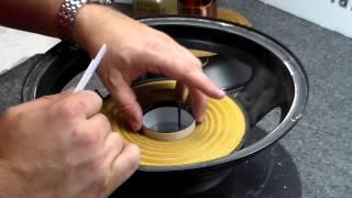 getlinkyoutube.com-How to Recone a JL Audio 12W6 or 10W6 Subwoofer - Repair Rebuild