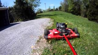"getlinkyoutube.com-Swisher 44"" Mower, Good & Bad"