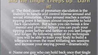 getlinkyoutube.com-How To Stop PreMature Ejaculation...I CUM to fast. Is that YOU?