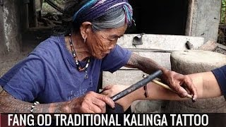 getlinkyoutube.com-Traditional Tattoos: Fang Od and Kalinga Tattooing in the Philippines