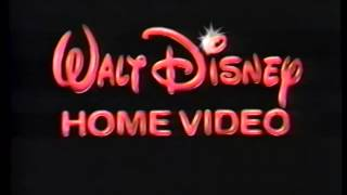 getlinkyoutube.com-Walt Disney Home Video (1991) Company Logo (VHS Capture)