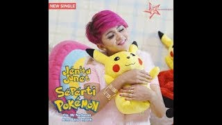 SEPERTI POKEMON - JENITA JANET karaoke dangdut (Tanpa vokal) cover