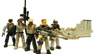 getlinkyoutube.com-Mega Bloks Call Of Duty - Sniper Unit