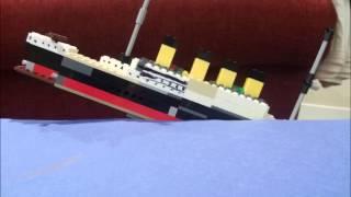 Lego Titanic Sinking