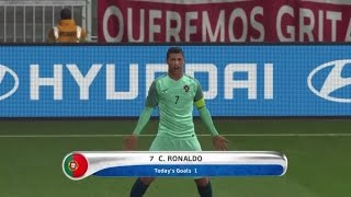 "getlinkyoutube.com-PES 2016 PORTUGAL Vs. WALES EURO 2016 Semi Final Match ""Prediction"" Highlights"