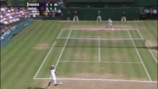 getlinkyoutube.com-Wimbledon 2006 Federer Nadal Final Highlights