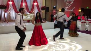 getlinkyoutube.com-Farah & Firoz's Wedding Reception Dance