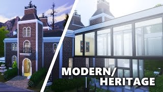 getlinkyoutube.com-The Sims 4 Build | MODERN HERITAGE  /w Sisligracy